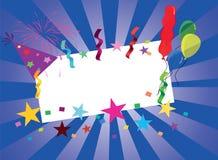 Εορταστική κάρτα ελεύθερη απεικόνιση δικαιώματος