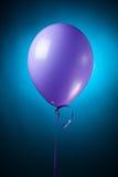 εορταστική πορφύρα μπαλονιών Στοκ Εικόνες