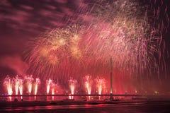 Εορταστικός χαιρετισμός στη Ρήγα Στοκ Φωτογραφίες