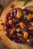 Εορταστικό κέικ φρούτων διακοπών Στοκ Εικόνες