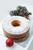 Εορταστικό κέικ Στοκ Εικόνα