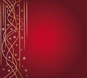 εορταστικό κόκκινο ανασ& Στοκ Εικόνες
