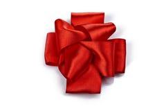 εορταστικό κόκκινο τόξων Στοκ Εικόνες