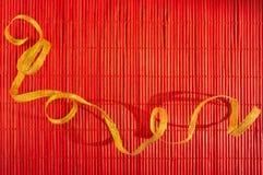 Εορταστικό κόκκινο υπόβαθρο Στοκ φωτογραφία με δικαίωμα ελεύθερης χρήσης