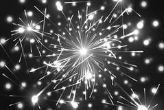 Εορταστικό νέο πυροτέχνημα έτους και Χριστουγέννων Στοκ Εικόνες