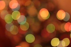 Εορταστικό πολύχρωμο υπόβαθρο με την επίδραση boke Στοκ εικόνα με δικαίωμα ελεύθερης χρήσης