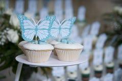 Εορταστικό fruitcake στα γενέθλια Στοκ Φωτογραφίες
