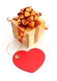 Εορταστικό Giftbox Στοκ Φωτογραφίες