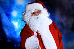 εορταστικό santa Στοκ εικόνες με δικαίωμα ελεύθερης χρήσης
