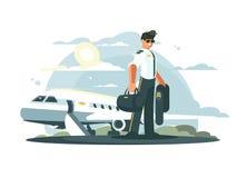 Επάγγελμα πειραματικό των αεροσκαφών ελεύθερη απεικόνιση δικαιώματος