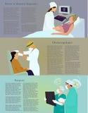 επάγγελμα εικόνας γιατρών εκεί απεικόνιση αποθεμάτων