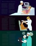 επάγγελμα εικόνας γιατρών εκεί ελεύθερη απεικόνιση δικαιώματος