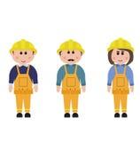 Επάγγελμα, εργάτης οικοδομών Στοκ Εικόνα