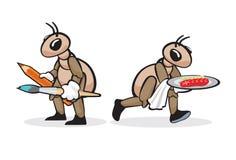 Επάγγελμα 4 μυρμηγκιών Στοκ φωτογραφίες με δικαίωμα ελεύθερης χρήσης