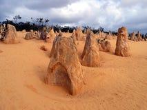 Επάνθιση βράχου πυραμίδων Στοκ Εικόνες