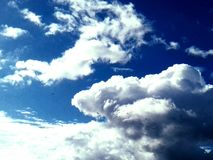 Επάνω από μας μόνο ουρανός Στοκ Εικόνες