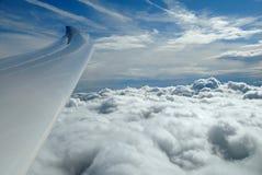 επάνω από τα σύννεφα επάνω Στοκ φωτογραφίες με δικαίωμα ελεύθερης χρήσης