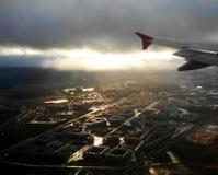 Επάνω από την Άγιος-Πετρούπολη στοκ φωτογραφίες με δικαίωμα ελεύθερης χρήσης