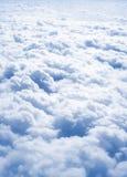 επάνω από την ελευθερία σύννεφων Στοκ Φωτογραφίες