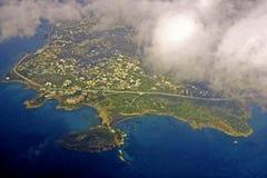 επάνω από την Ελλάδα Στοκ εικόνα με δικαίωμα ελεύθερης χρήσης