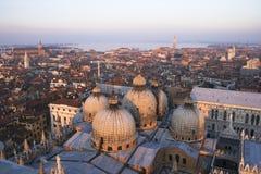 επάνω από την Ιταλία Βενετία Στοκ εικόνα με δικαίωμα ελεύθερης χρήσης