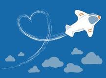 επάνω από την πτήση σύννεφων Στοκ φωτογραφίες με δικαίωμα ελεύθερης χρήσης