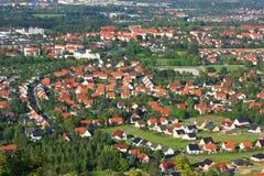 επάνω από την πόλη Στοκ εικόνες με δικαίωμα ελεύθερης χρήσης