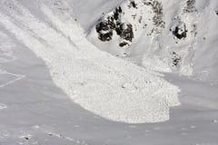 επάνω από την όψη χιονοστιβάδων Στοκ φωτογραφίες με δικαίωμα ελεύθερης χρήσης