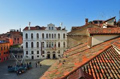 επάνω από τη Βενετία Στοκ φωτογραφίες με δικαίωμα ελεύθερης χρήσης