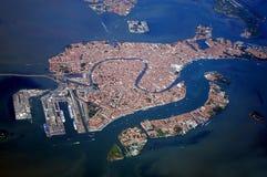 επάνω από τη Βενετία Στοκ φωτογραφία με δικαίωμα ελεύθερης χρήσης