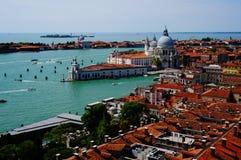 επάνω από τη Βενετία Στοκ Εικόνες