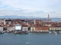 επάνω από τη Βενετία Στοκ εικόνα με δικαίωμα ελεύθερης χρήσης
