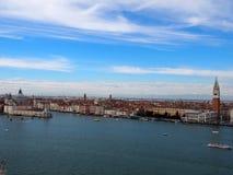 επάνω από τη Βενετία Στοκ Φωτογραφίες