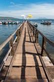 επάνω από τη γέφυρα Ινδικός &Omeg Στοκ εικόνα με δικαίωμα ελεύθερης χρήσης