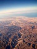 επάνω από τη γη hight Στοκ Εικόνα