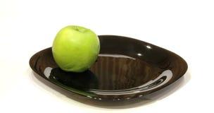 επάνω από τη μεγάλη πράσινη juicy όψη μήλων Στοκ φωτογραφία με δικαίωμα ελεύθερης χρήσης