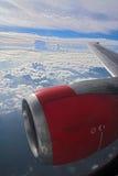 επάνω από τον κόσμο Στοκ Φωτογραφία