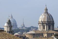 επάνω από τον ουρανό της Ρώμη&s Στοκ εικόνες με δικαίωμα ελεύθερης χρήσης