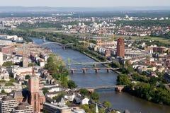 επάνω από το βασικό ποταμό Στοκ Εικόνα