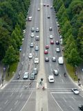 επάνω από το δρόμο Στοκ Εικόνες