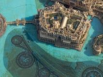 επάνω από το Ντουμπάι Στοκ εικόνα με δικαίωμα ελεύθερης χρήσης