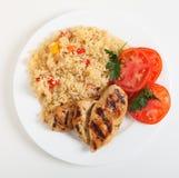 επάνω από το ρύζι γεύματος &kappa Στοκ Εικόνες