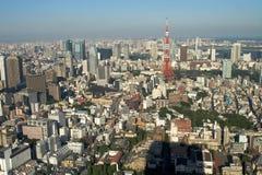 επάνω από το Τόκιο Στοκ Φωτογραφία