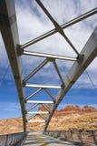 επάνω από το φαράγγι γεφυρών στοκ εικόνες