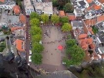 επάνω από το amersfoort Στοκ φωτογραφία με δικαίωμα ελεύθερης χρήσης