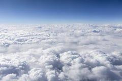 Επάνω από το Cloudscape Στοκ Φωτογραφίες