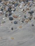 επάνω από φωτογραφισμένο ύδωρ φυκιών θάλασσας προσθηκών το χαλίκι στοκ εικόνα