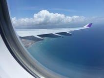 Επάνω στον αέρα Στοκ Φωτογραφία