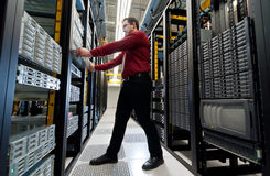 Επέκταση κεντρικών υπολογιστών Στοκ εικόνα με δικαίωμα ελεύθερης χρήσης