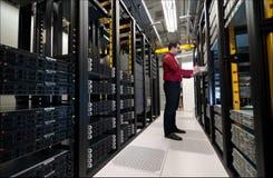 Επέκταση κεντρικών υπολογιστών Στοκ φωτογραφία με δικαίωμα ελεύθερης χρήσης